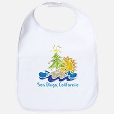 San Diego Holiday Bib