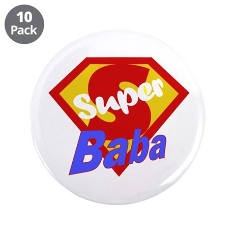 "Super Baba 3.5"" Button (10 pack)"