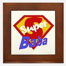 Super Baba Framed Tile