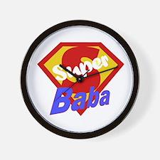 Super Baba Wall Clock