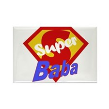 Super Baba Rectangle Magnet