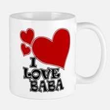 I Love Baba Small Mugs