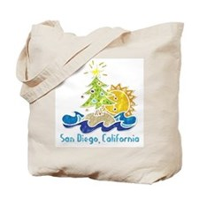 San Diego Holiday Tote Bag