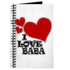 I Love Baba Journal