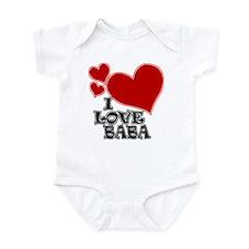 I Love Baba Infant Bodysuit