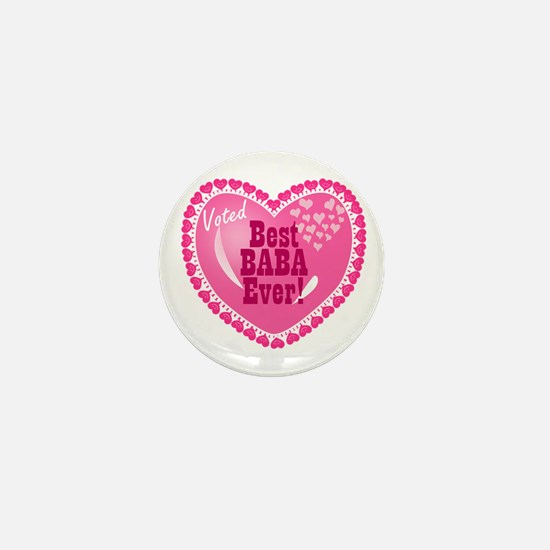 Best Baba Ever Mini Button