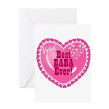 Best Baba Ever Greeting Card