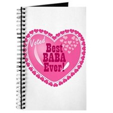 Best Baba Ever Journal
