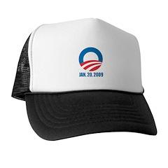 OBAMA: January 20, 2009 Trucker Hat