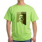 Hope Won Green T-Shirt