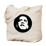 Obama Face Tote Bag