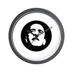 Obama Face Wall Clock