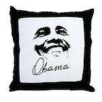 Barack Obama Signature Throw Pillow