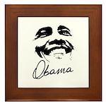 Barack Obama Signature Framed Tile