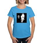 Obama Portrait Women's Dark T-Shirt