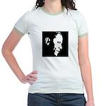 Obama Portrait Jr. Ringer T-Shirt