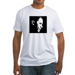 Obama Portrait Fitted T-Shirt