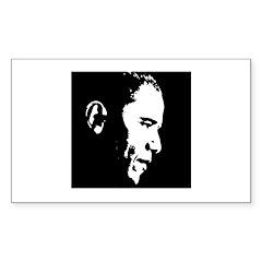 Obama Portrait Rectangle Decal