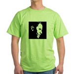 Obama Portrait Green T-Shirt