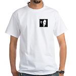 Obama Portrait White T-Shirt