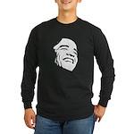 Obama Portrait Long Sleeve Dark T-Shirt
