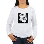 Obama Portrait Women's Long Sleeve T-Shirt