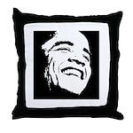 Obama Portrait Throw Pillow