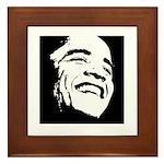Obama Portrait Framed Tile