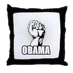 Obama Power Throw Pillow