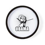 Obama Power Wall Clock