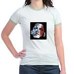 Obama Stars and Stripes Jr. Ringer T-Shirt