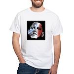 Obama Stars and Stripes White T-Shirt
