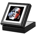 Obama Stars and Stripes Keepsake Box