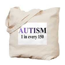 Autism (1 in every 150) Tote Bag