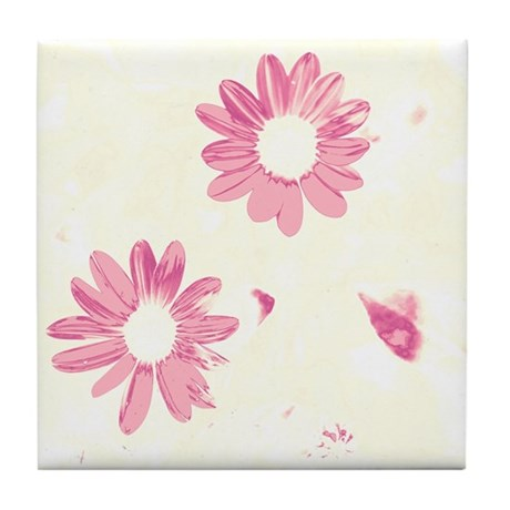 Raspberry Petals Coaster