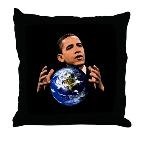 Change Space:dark: Throw Pillow