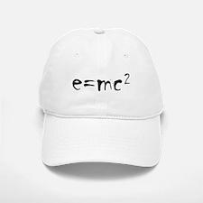 E=MC2 Baseball Baseball Cap