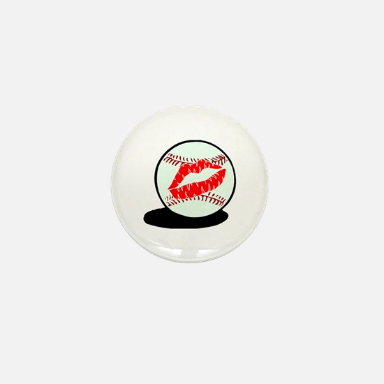 Baseball (Kiss) Mini Button