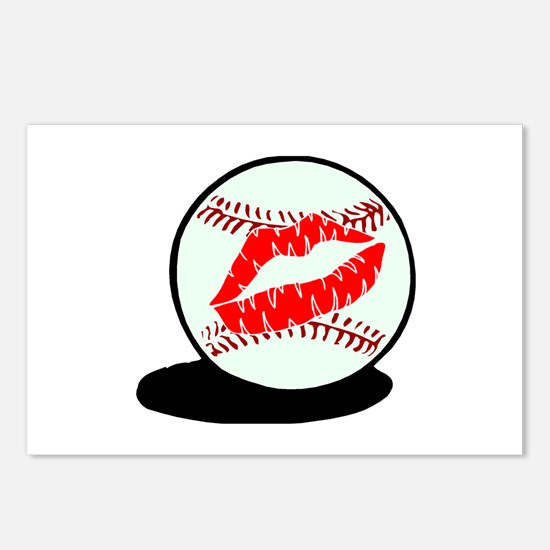 Baseball (Kiss) Postcards (Package of 8)