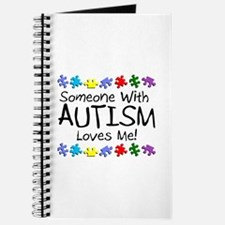 Someone With Autism Loves Me! Journal