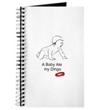 A baby ate my dingo Journal