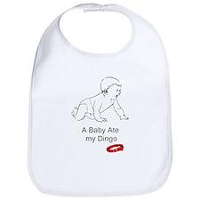 A baby ate my dingo Bib