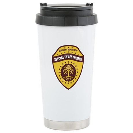 Special Investigator Stainless Steel Travel Mug