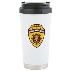 Special Investigator Travel Mug
