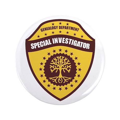 """Special Investigator 3.5"""" Button"""