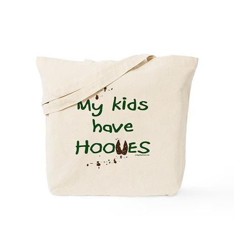 My kids have hooves Tote Bag