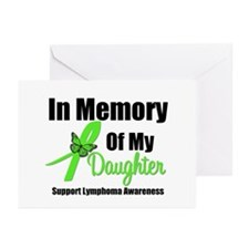 In Memory of My Daughter Greeting Cards (Pk of 10)