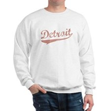 DETROIT RETRO LOGO Sweatshirt