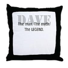 The Legend Throw Pillow