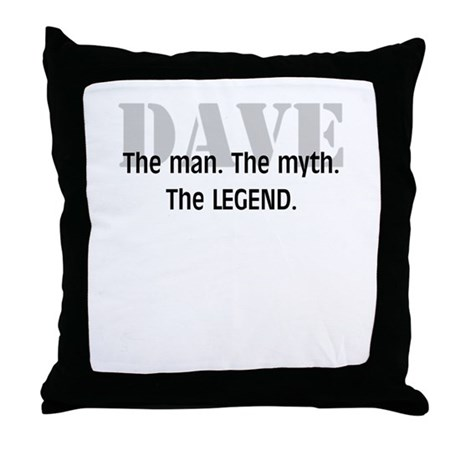 The Legend Throw Pillow